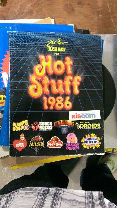 Yeah, I collect Toy Fair catalogs, but there was no way I was paying $75 for this.