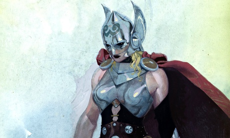 The female version of Thor – looks like a woman, acts like a man.