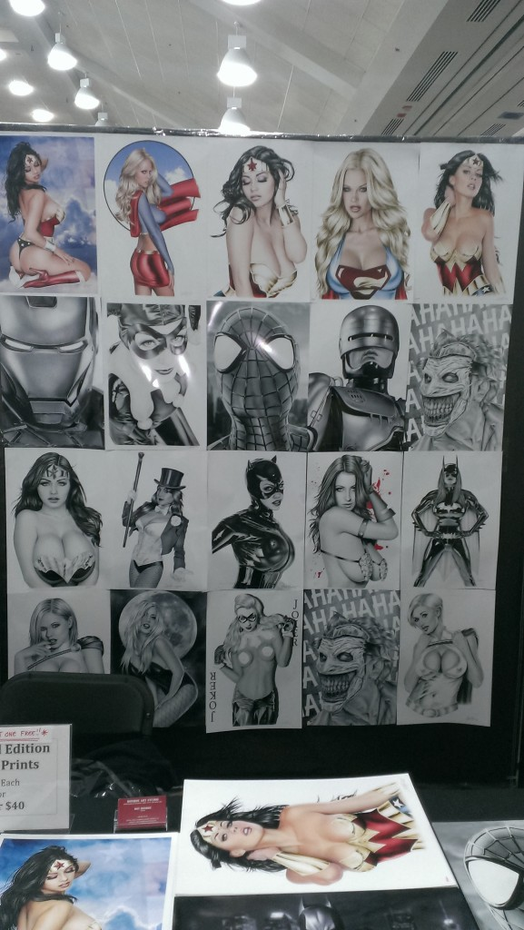 These are basically leaked cell phone pics from DC heroines. What, too soon?