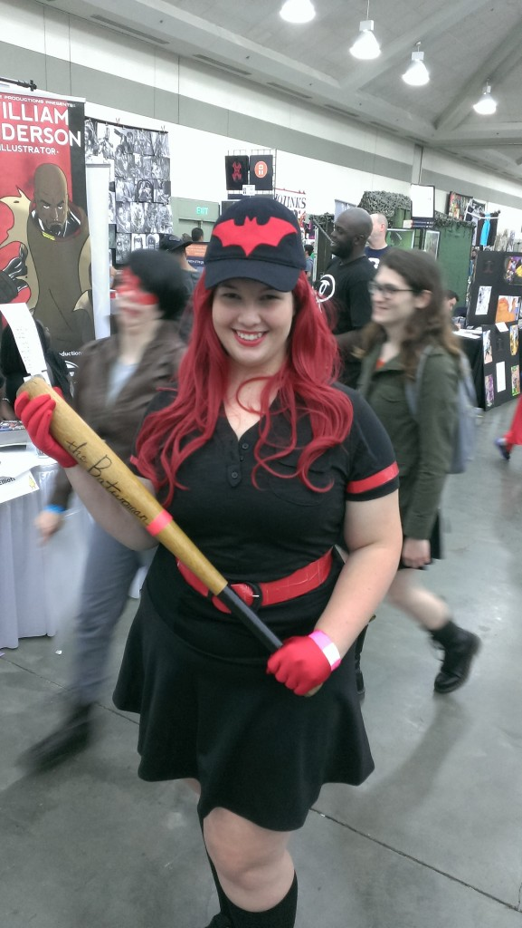 Batwoman, as seen on the DC Bombshells variant