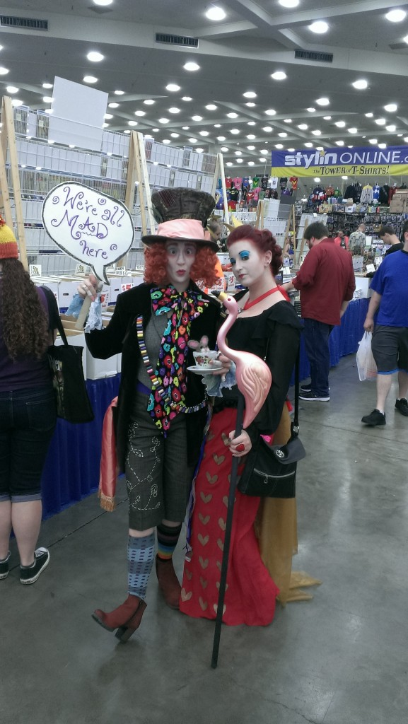 Mad Hatter & Queen of Hearts