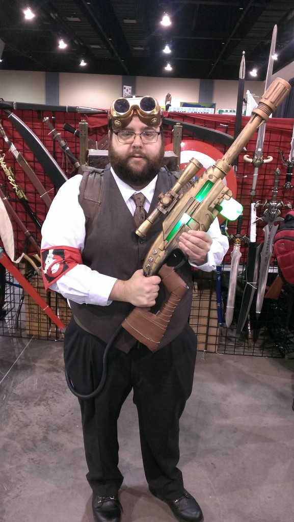 Steampunk Ghostbuster