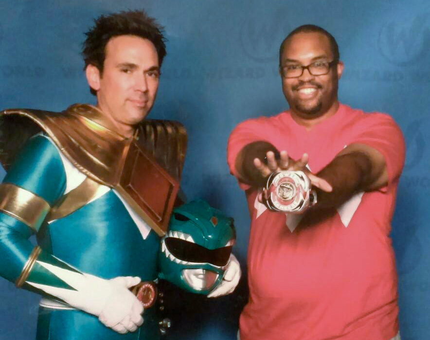 will west with green ranger