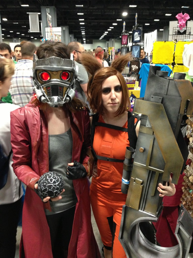 Crossplay Star-Lord and Rocket Raccoon