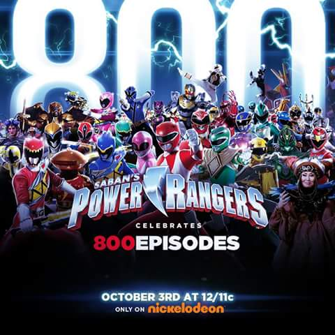 Power Rangers 800
