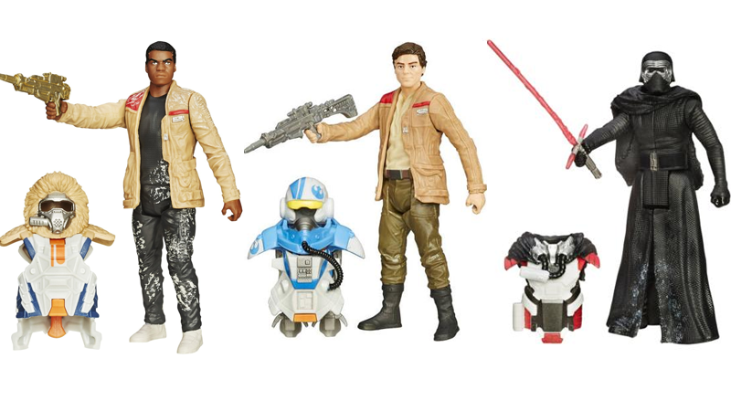 star wars force awakens figures